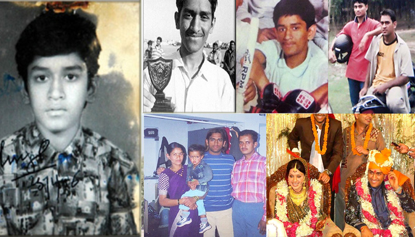 MS Dhoni Early Life
