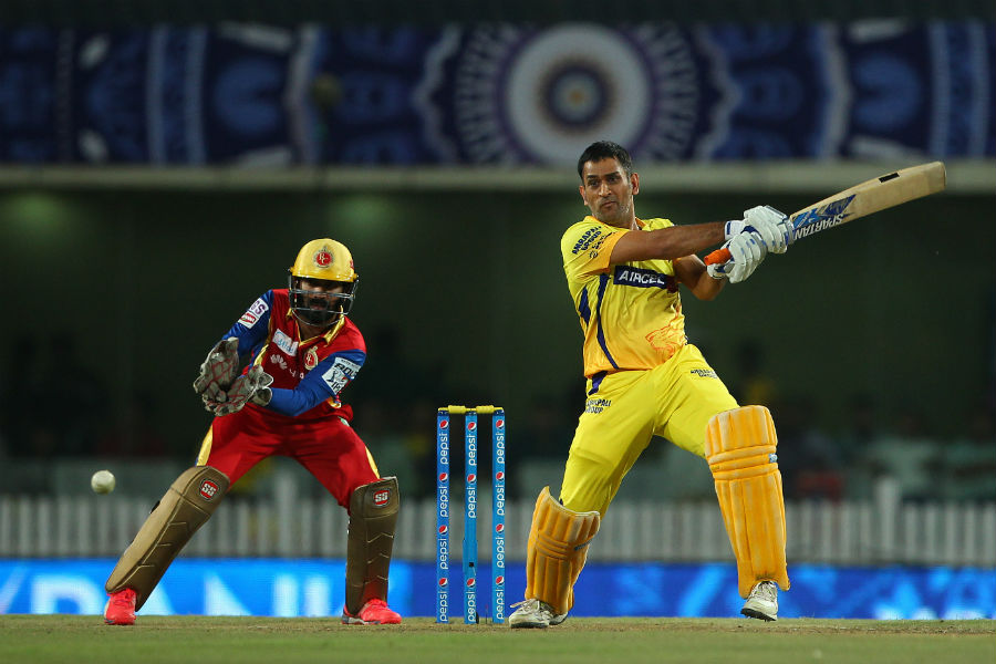 MS Dhoni Innings in IPL Against RCB