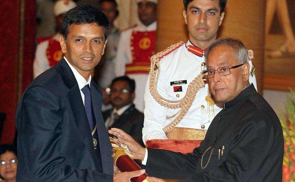 Rahul Dravid Awards and Achievements