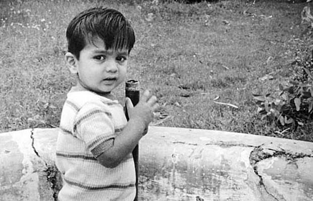 Rahul Dravid Childhood