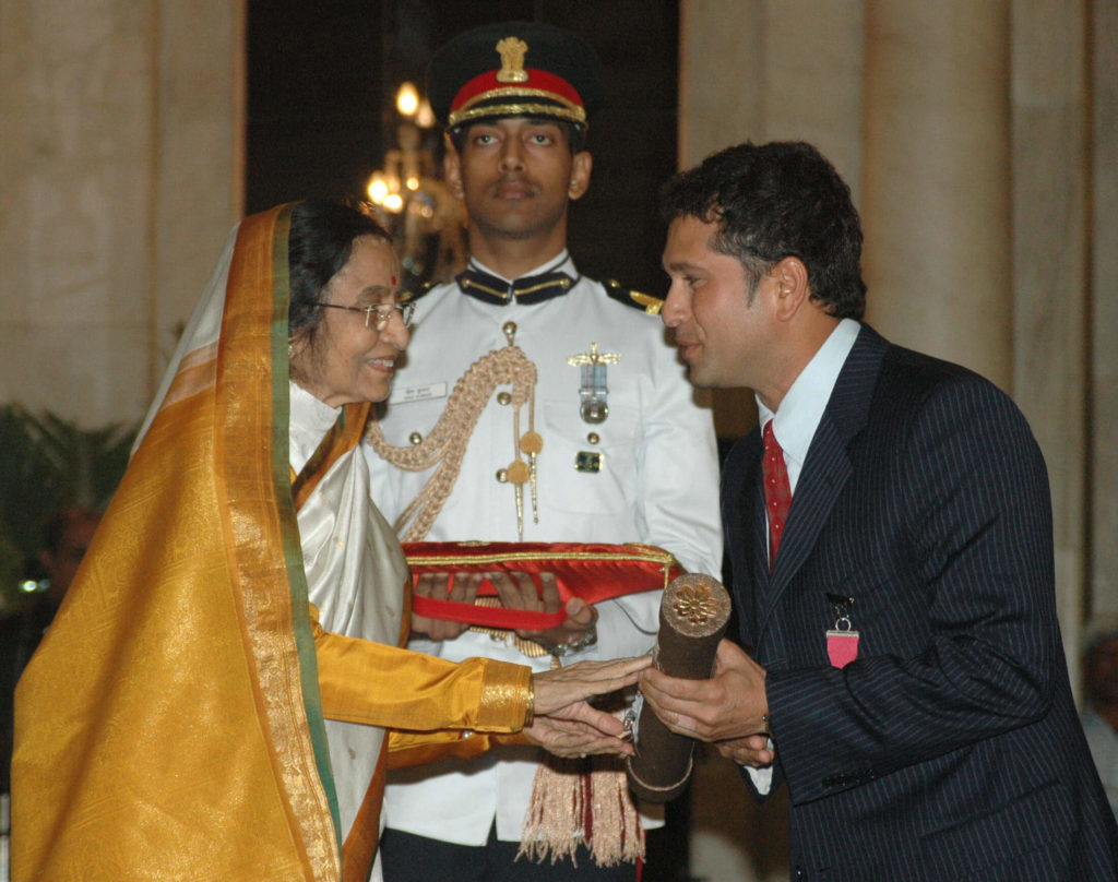Sachin Tendulkar Famous Awards, Records and Recognitions