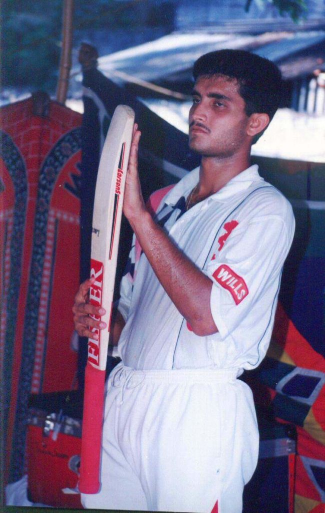 Sourav Ganguly Early Days