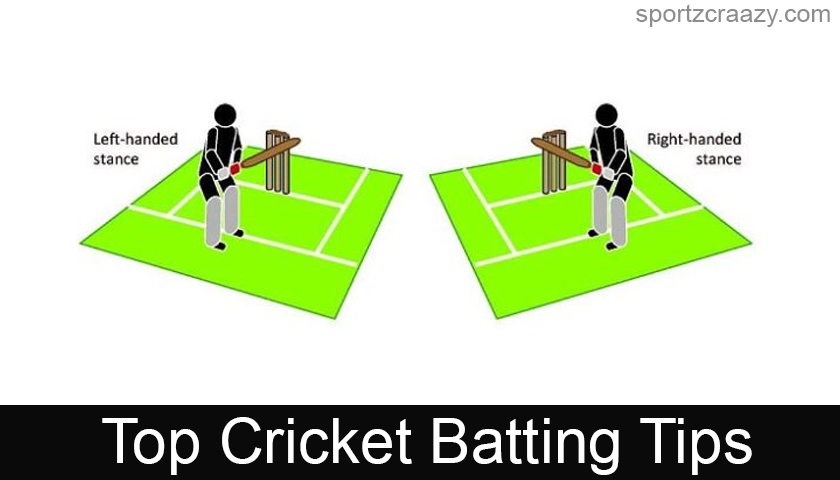 Top 8 Cricket Batting Tips