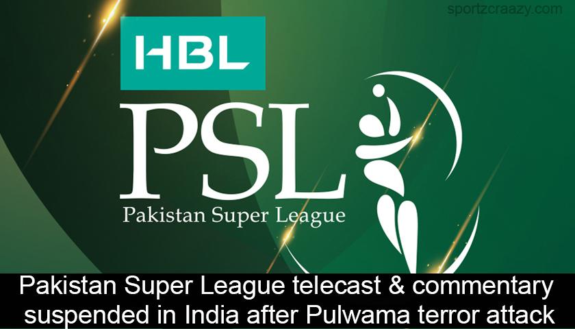 Pakistan Super League (PSL) Telecast & Commentary Suspended