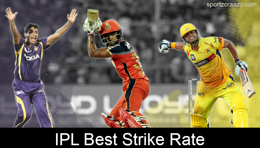 IPL Best Strike Rate