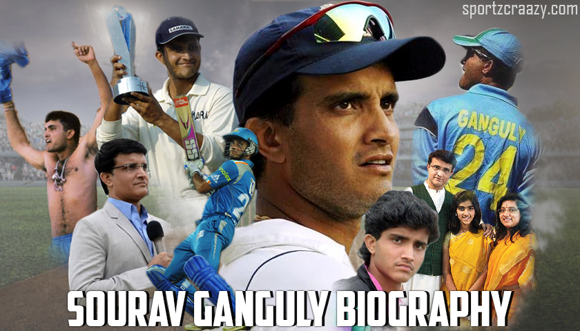 Sourav Ganguly Biography - Personal Life | Stats & Records | Net Worth