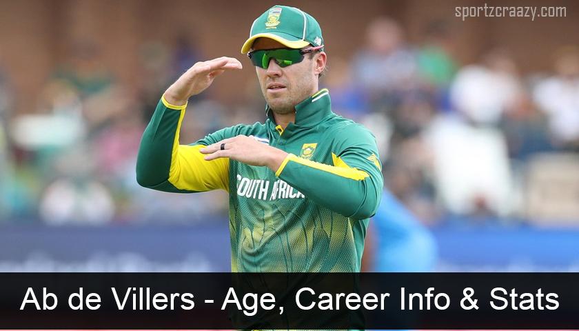 Ab de Villers -Age, Career Info & Stats