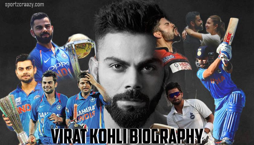 Virat Kohli Biography