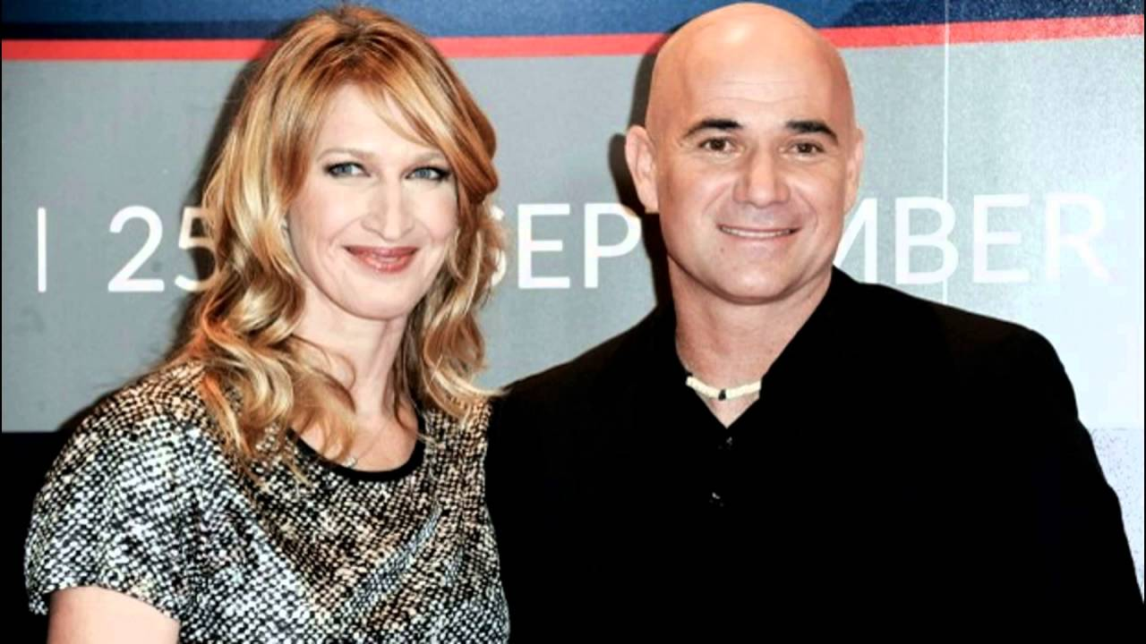 Steffi Graff And Andre Agassi