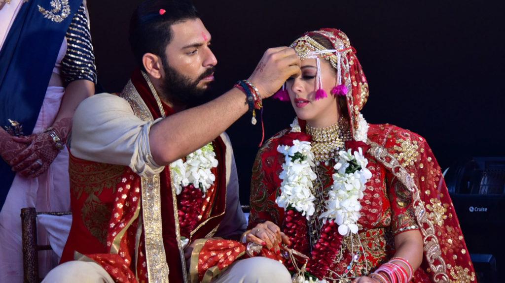 yuvraj singh Marriage