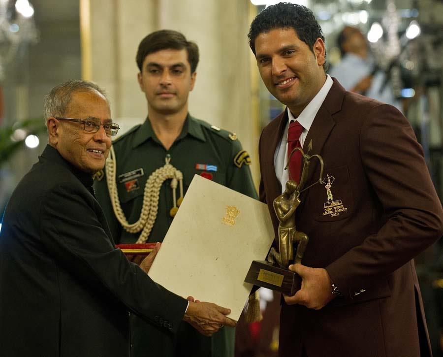 yuvraj singh awards