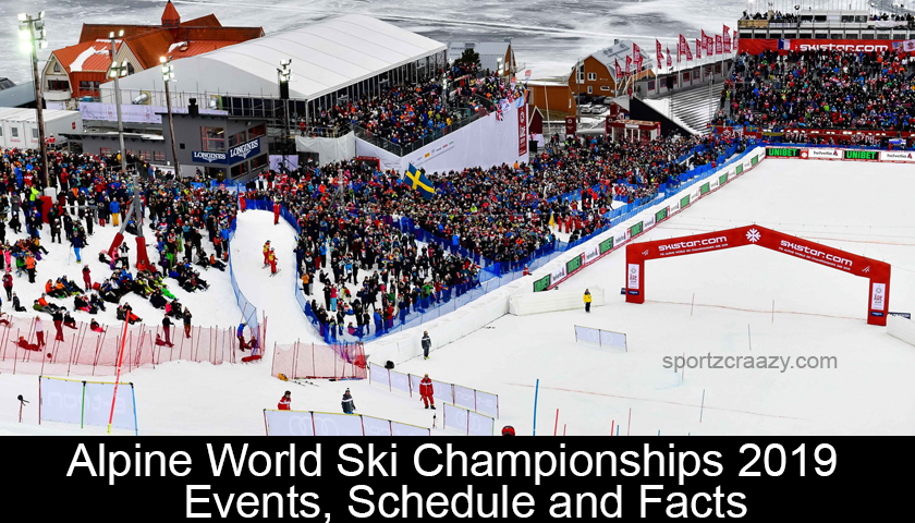 Alpine World Ski Championships 2019 - Events, Schedule and Facts