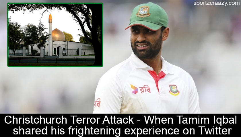 Terrorist Attack Christchurch: Christchurch Terror Attack- When Tamim Iqbal Shared His