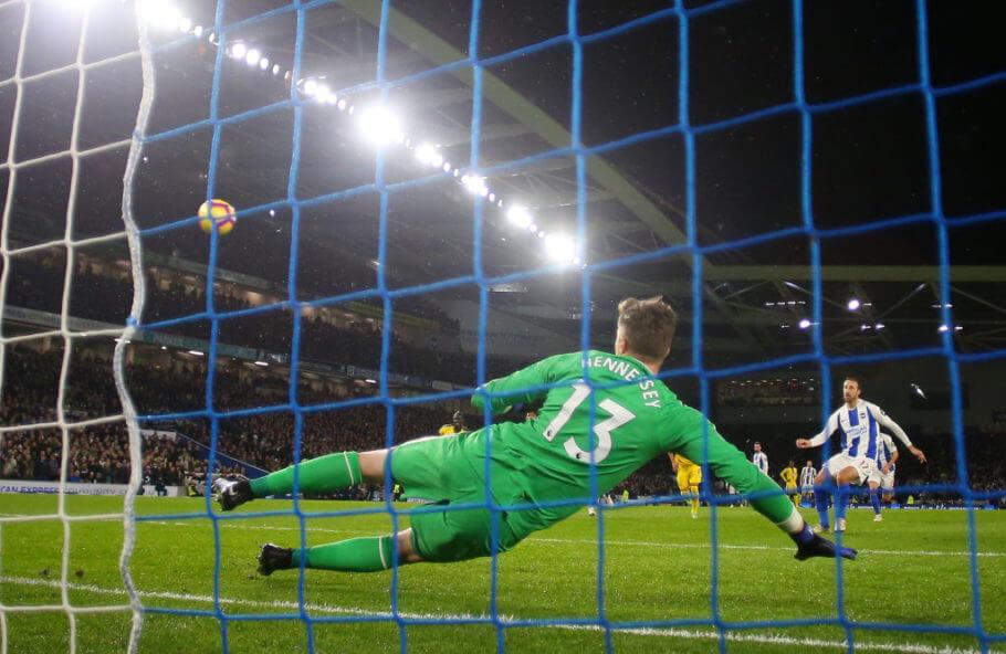 Crystal Palace vs. Brighton match