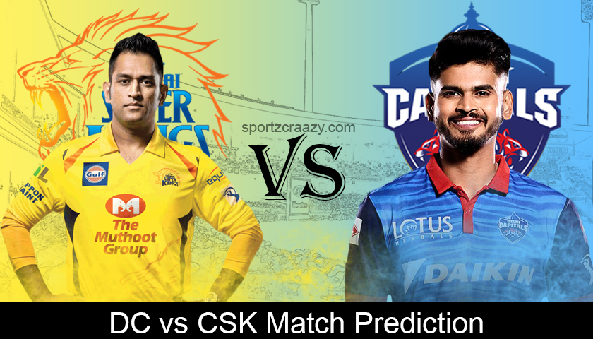 DC vs CSK Match Prediction