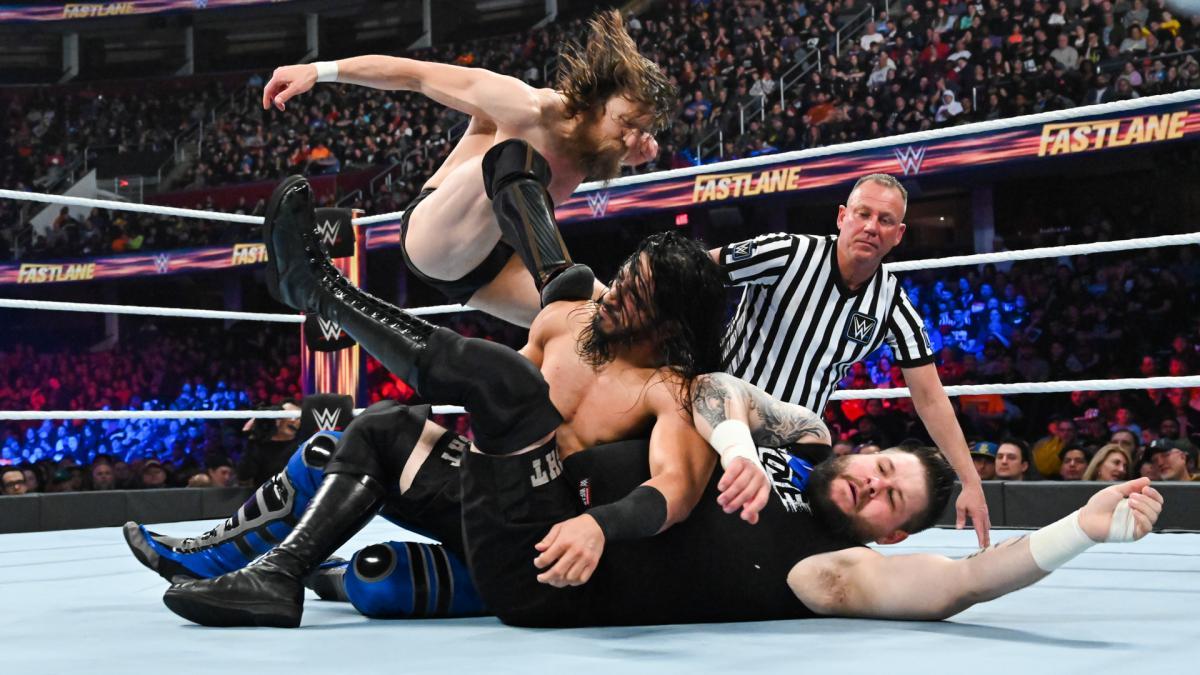 Daniel Bryan vs Kevin Owens vs Mustafa Ali