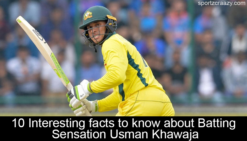 Facts about Usman Khawaja