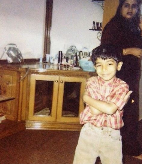 Jasprit Bumrah childhood pic