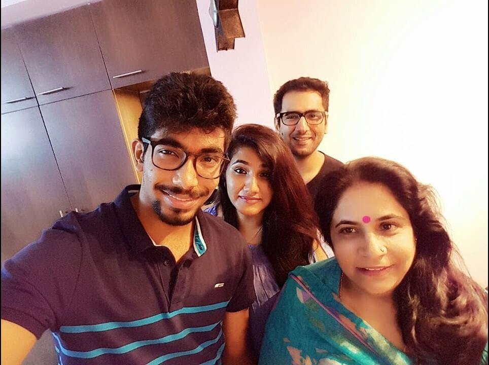 Jasprit Bumrah family