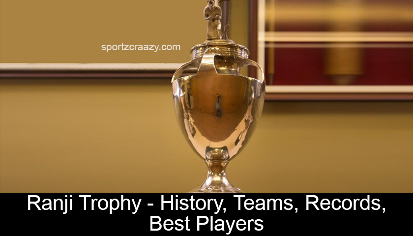 Ranji Trophy - History, Teams, Records, Best Players
