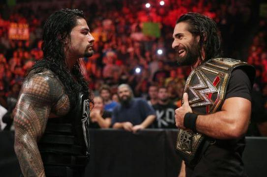 Rollins vs Reigns Rivalry