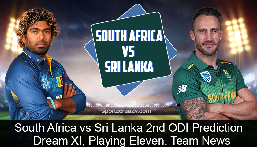 South Africa vs Sri Lanka 2nd ODI Prediction