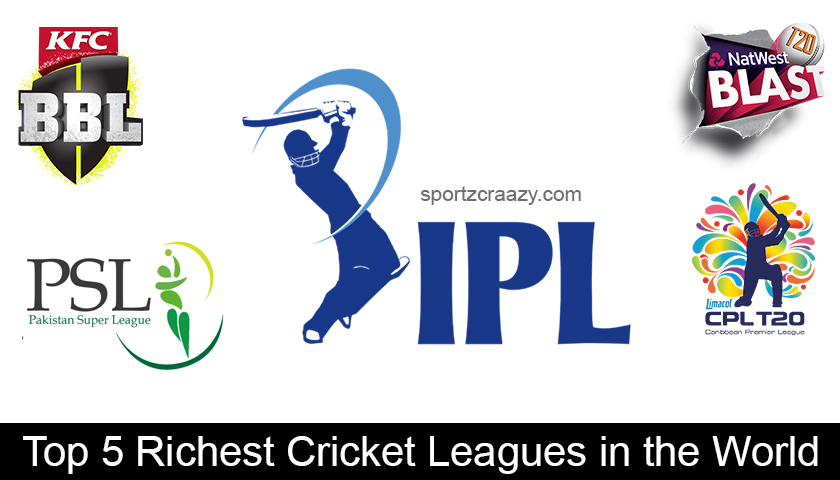 Top 5 Richest Cricket Leagues in the World
