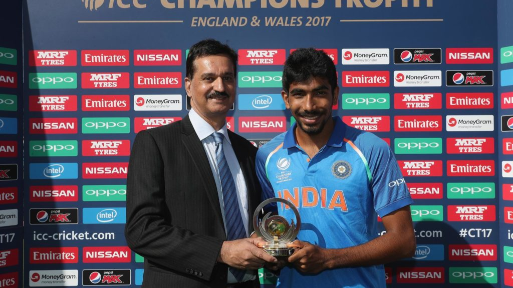 jasprit bumrah achievements