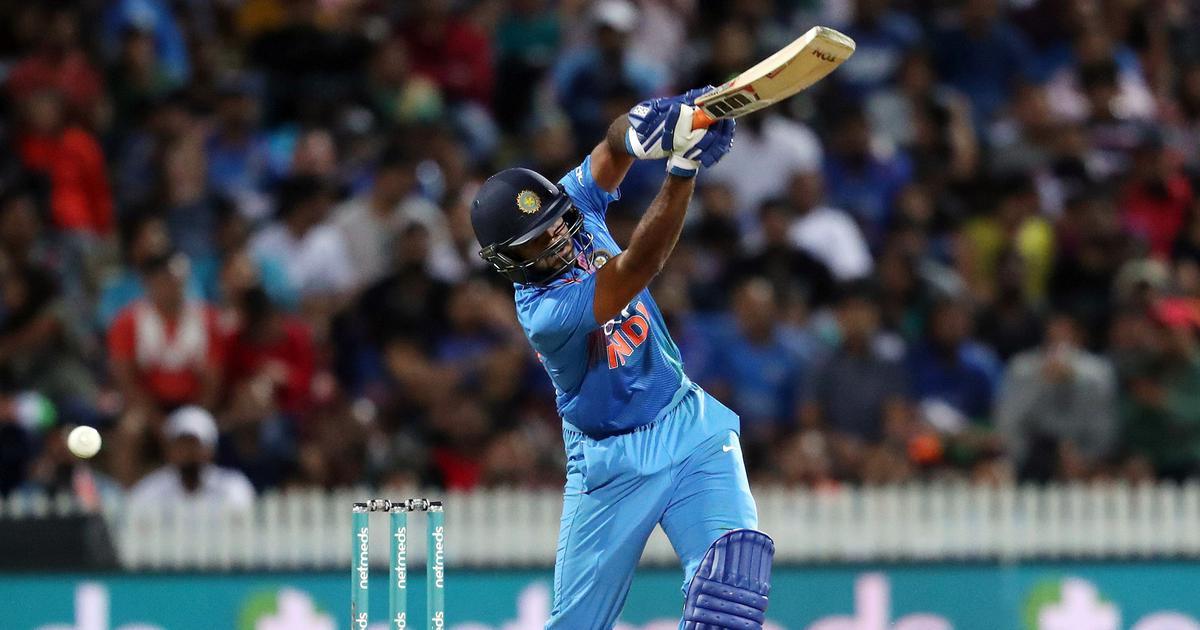 vijay shankar batting pics