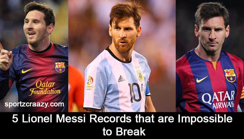 5 Lionel Messi Records that are Impossible