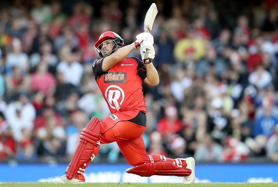 Aaron Finch - 67 sixes