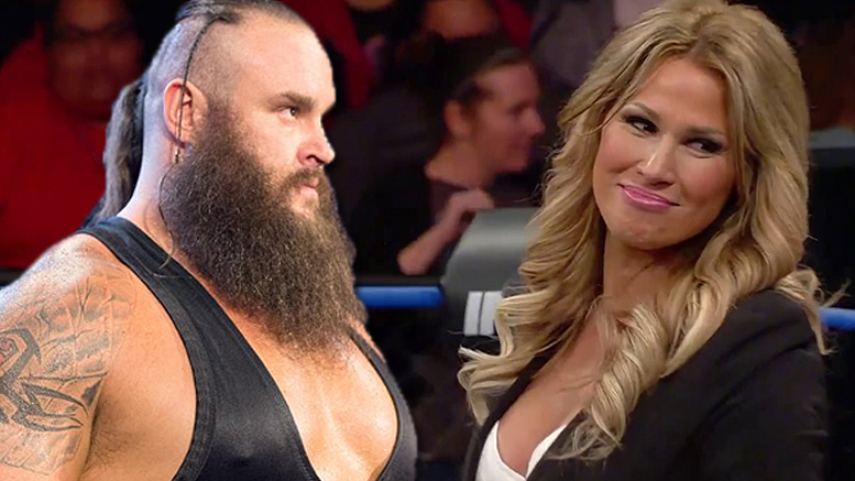 Braun Strowman with his wife