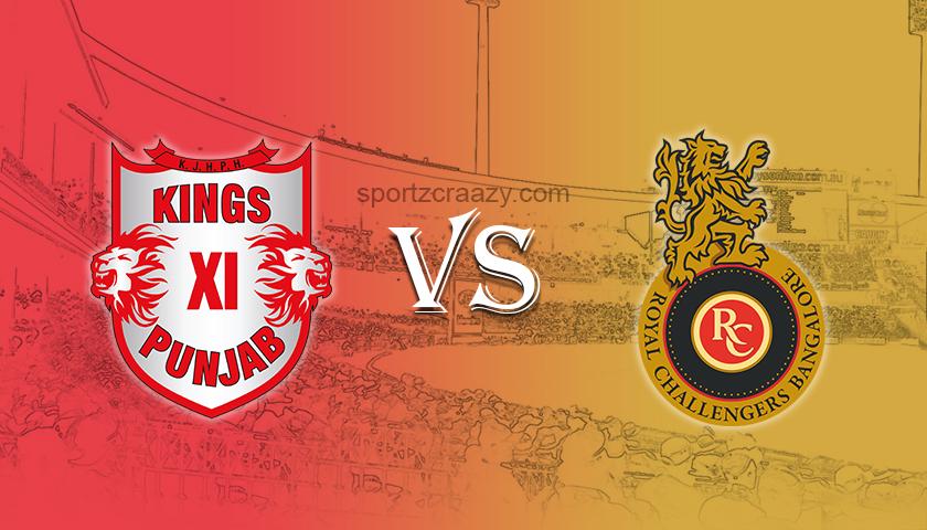 Kings XI Punjab vs Royal Challengers Bangalore sportzcraazy
