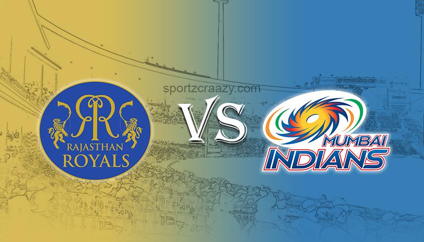 Mumbai Indians vs Rajasthan Royals Match Prediction