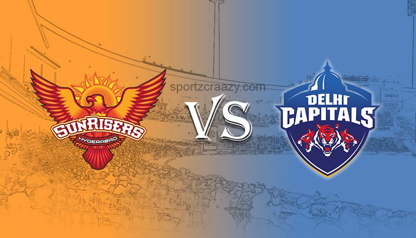 Sunrisers Hyderabad vs Delhi Capitals sportzcraazy