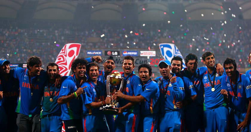 The Indian World Cup Cricket Team 2011
