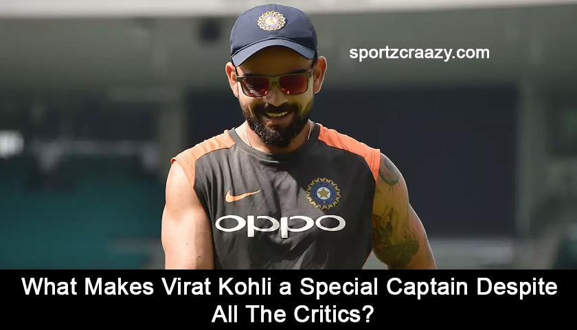 What Makes Virat Kohli a Special Captain?