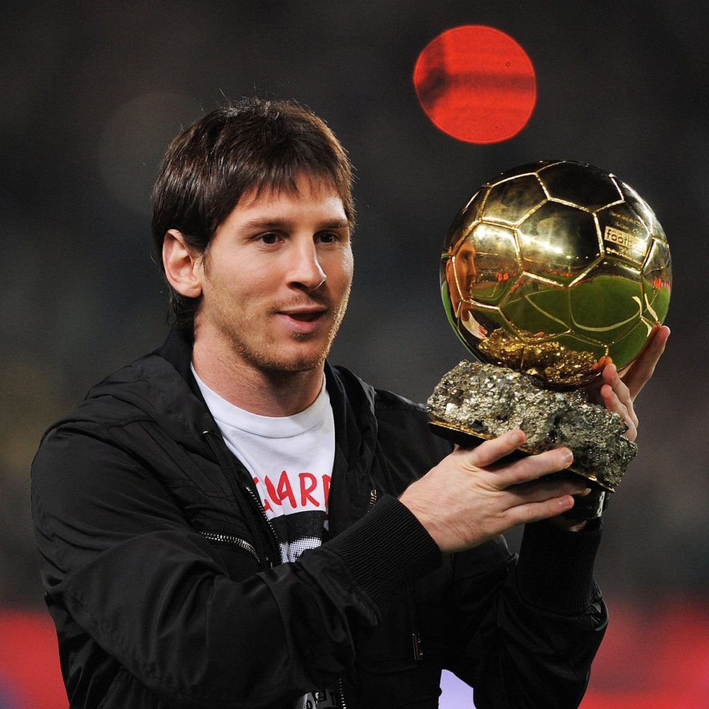 lionel messi first ballon d'or 2009