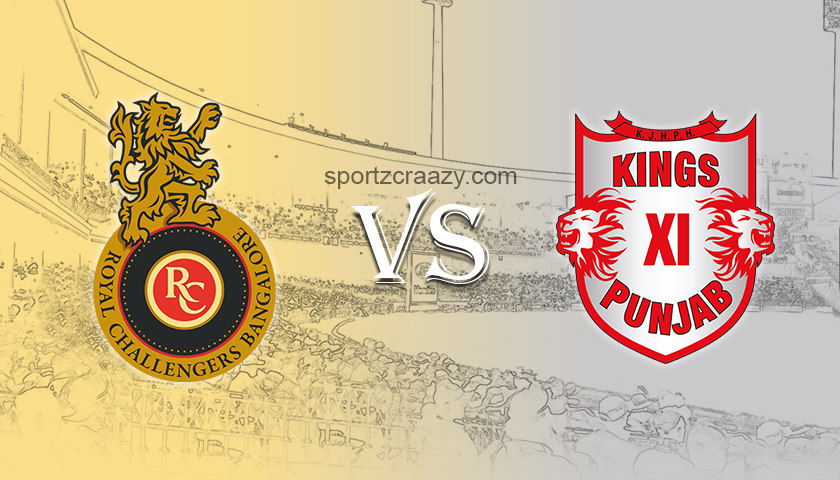 RCB Vs KXIP Match 42: Dream 11 Prediction, Match News, Playing Eleven