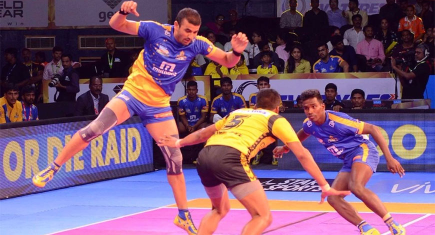 in Pro Kabaddi League Seasons 2 and 3