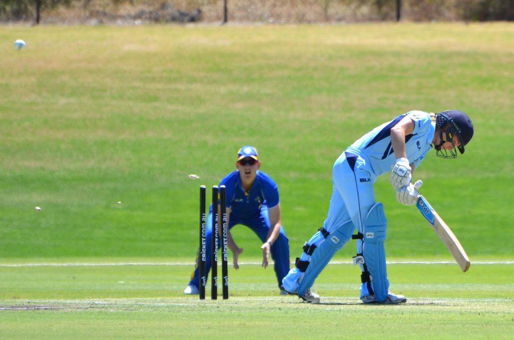 bowled way for dismissal