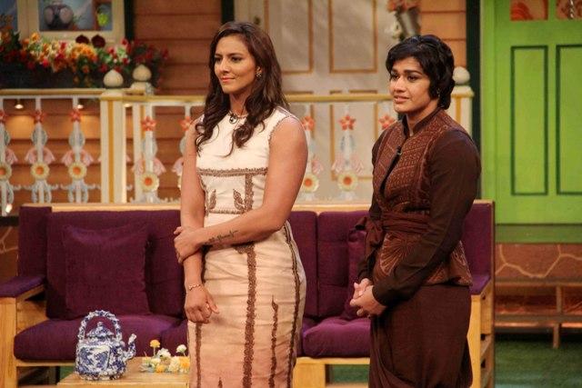 Babita Phogat and Geeta Phogat