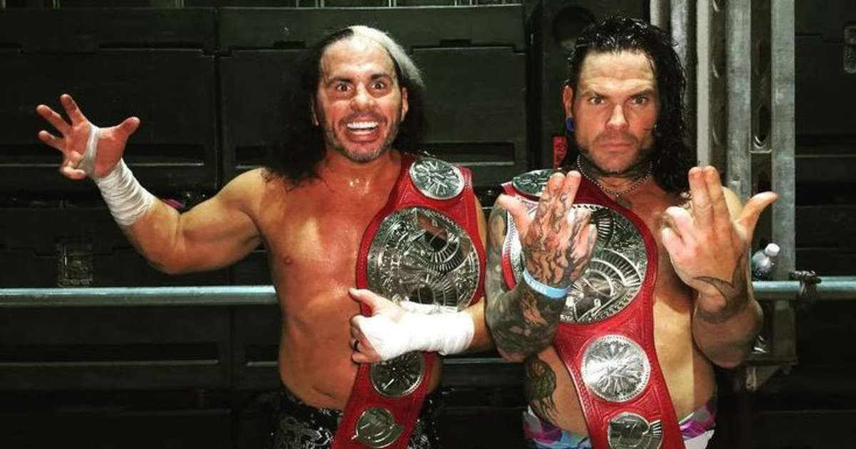 "Formation of the ""Hardy Boyz"""