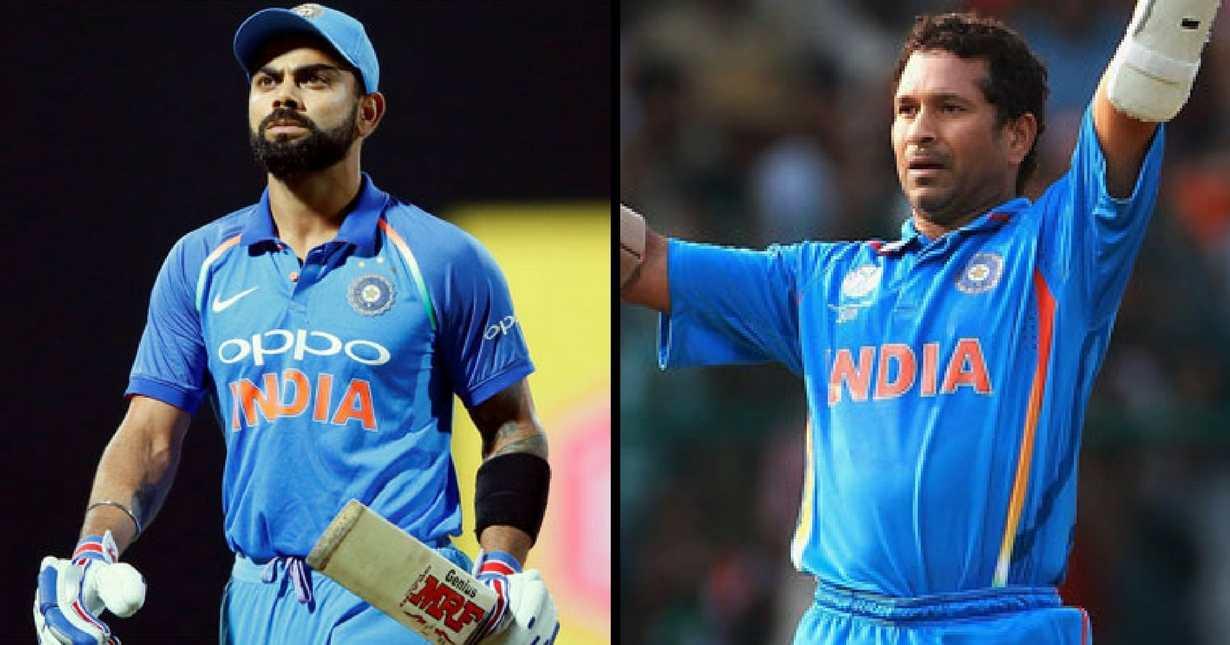 Sachin vs Kohli ODI