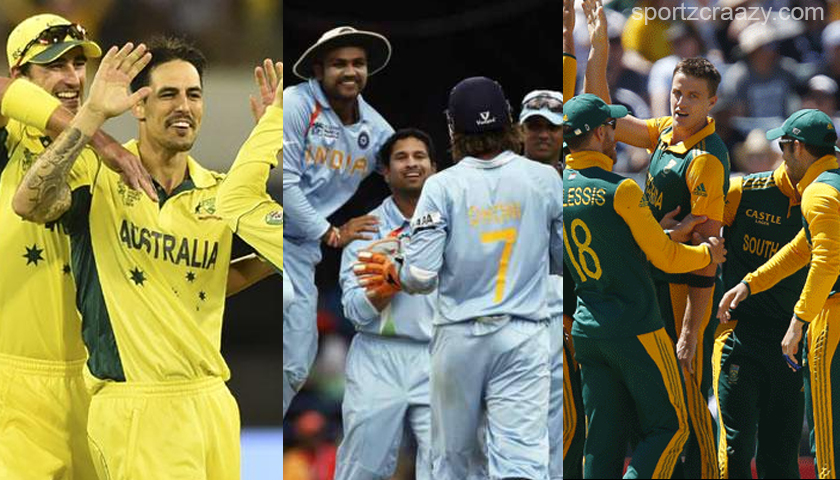 World Cup Largest Victories (By Run) - SportzCraazy
