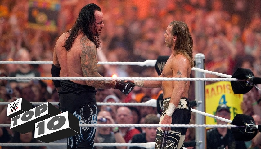 undertaker emotional moments in Wrestlemania
