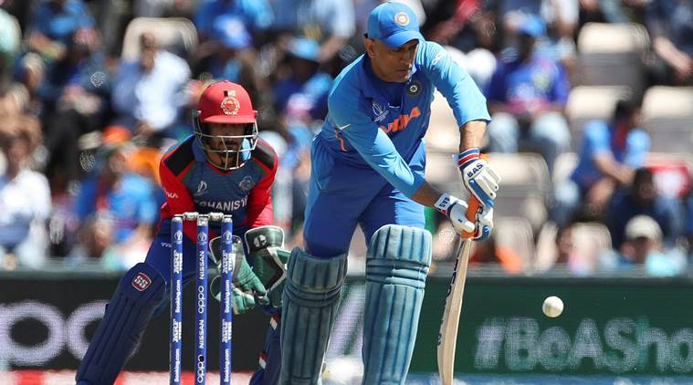 Ms dhoni slow innings vs AFG