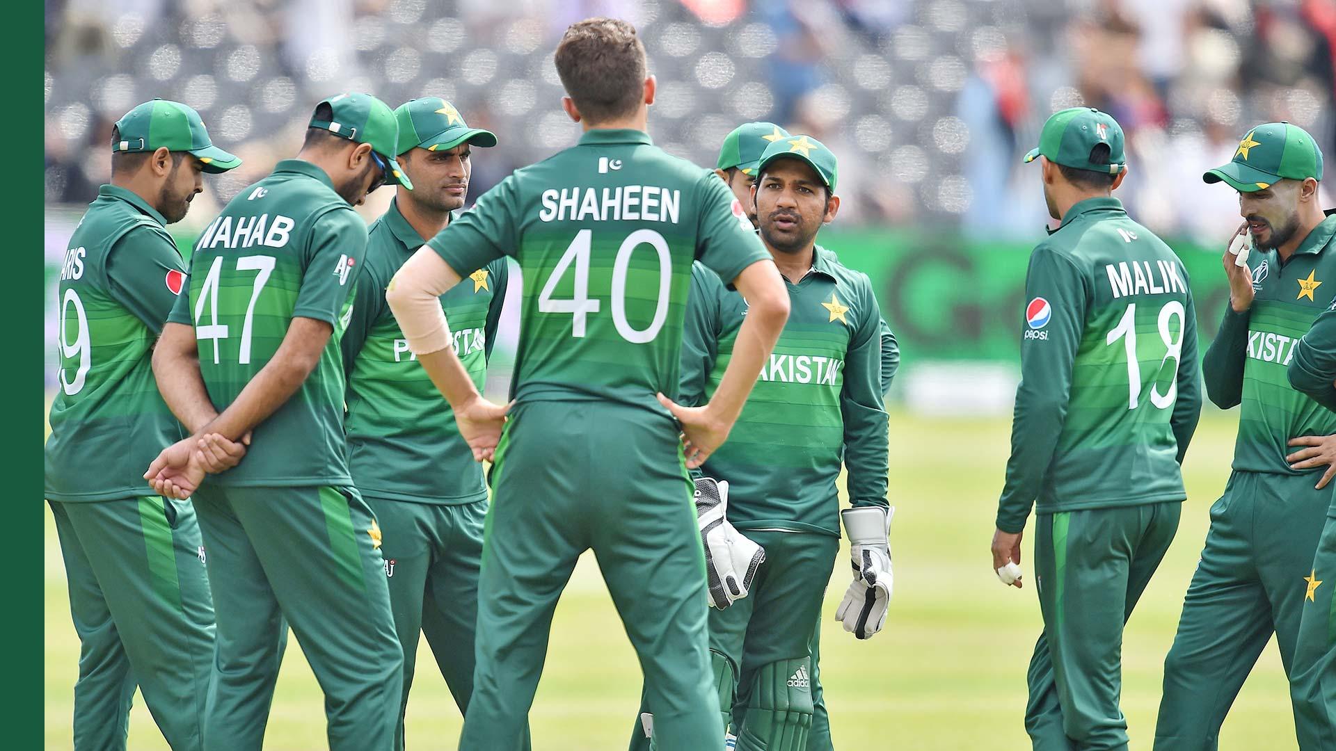 Pakistan Cricket World Cup 2019 Teams