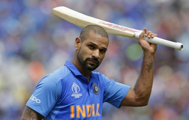 Shikhar Dhawan ruled out for three weeks.