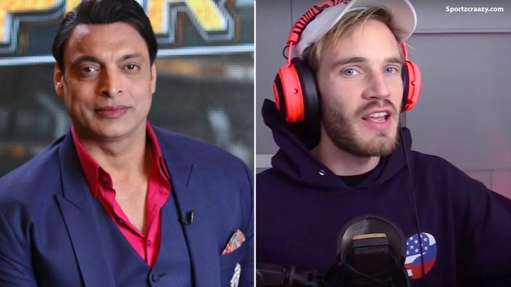 Shoaib Akhtar Leaves Pewdiepie on Youtube